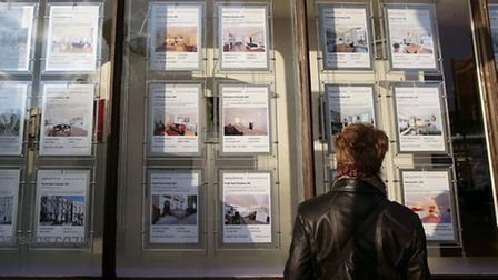 Estate agents in the capital have seen a boost from rising house prices. Image: Yui Mok/ PA