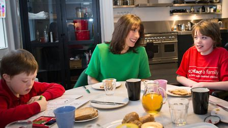 26/01/2015 PA File Photo of Samantha Cameron, the wife of Prime Minister David Cameron, has breakfas