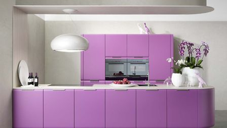 Onda kitchen in Orchid, Rational