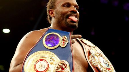 Dereck Chisora was one of the star guests at the Annual Charity Boxing Dinner