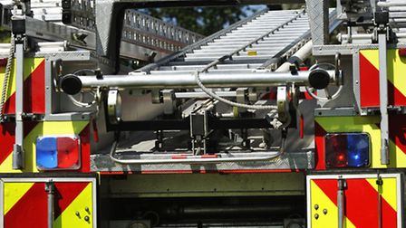 Fire engines were called to the scene