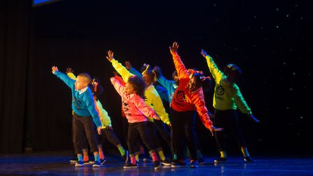 Hackney's Ekidz, winners of the under-13s category in the Boroughs United talent show. Photo by Just
