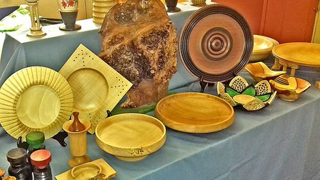 The Waveney & District Woodturners are holding an exhibition at Lowestoft Library. Picture: Courtesy