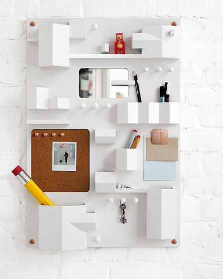 Seletti Suburbia Wall Storage unit, Vale Interiors. PA Photo/Handout
