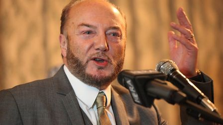 George Galloway. Picture: Isabel Infantes
