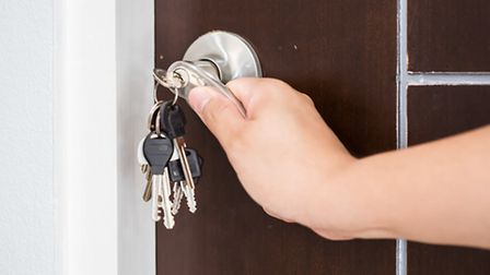 Ideally, you should change the locks on your new property as quickly as possible