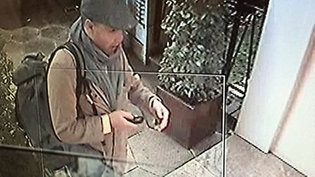 Camden police have released CCTV images of three men they would like to speak to in connection with