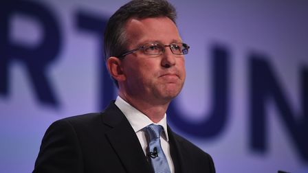 Jeremy Wright at the Conservative Party Conference. Photo: Getty