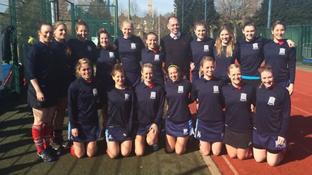 Hampstead & Westminster's ladies' first team have secured promotion