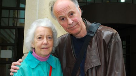 Victims Sylvia Eaves and osteopath Keith Bender, above, were in court for the compensation hearing o