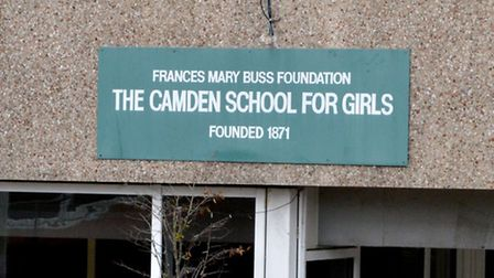 Camden School for Girls. Picture: Polly Hancock