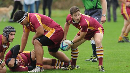 Hampstead's Will Pettit finished off a superb team try after a move from one end of the field to the