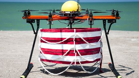 Drone can save swimmers in 20 seconds