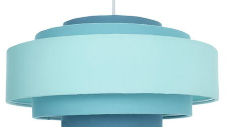 Teal 5-tier easy fit shade, Next. PA Photo/Handout.