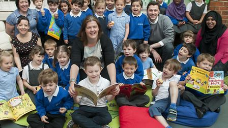 Staff and pupils at Abacus . Picture: Nigel Sutton