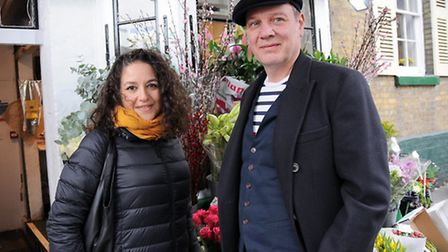 Ayshe and Mark Jenkinson. Picture: Dieter Perry.