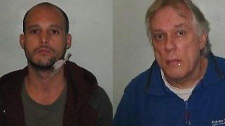 Steven McDonald, 32, from Chatham in Kent, and John Wright, 66, from Hounslow, were both jailed for