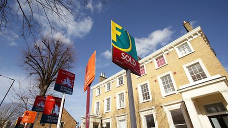 London house prices fell for the sixth month running in February