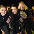 Up for the challenge: 15 players from Hampstead Ladies rugby team will take on the tough Spartan Spr