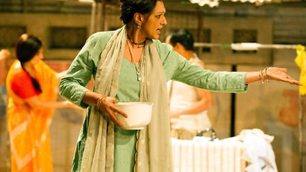 Meera Syal in Behind the Beautiful Forevers. Picture: Richard Hubert Smith