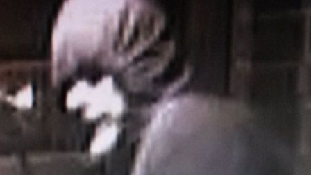 Police want to question this man following a moped ram-raid in Hampstead