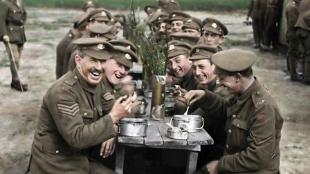 THEY SHALL NOT GROW OLD. A colourised image from Peter Jackson's film. Photo: Contributed