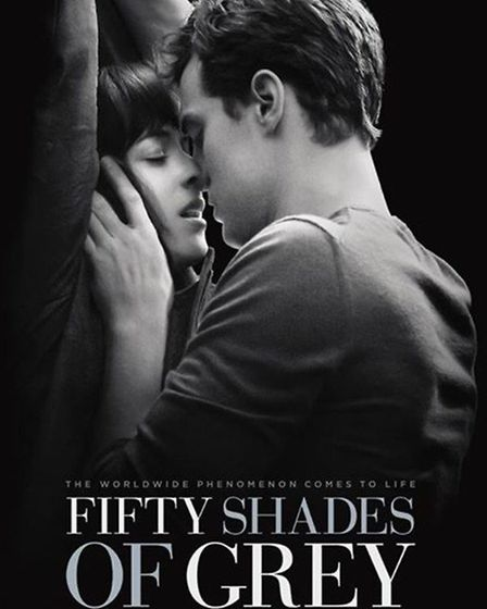 Does this Fifty Shades of Grey film poster hold a subliminal message?