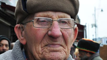 William, aged 92, who has shopped at the Kingsland Waste for 88 years