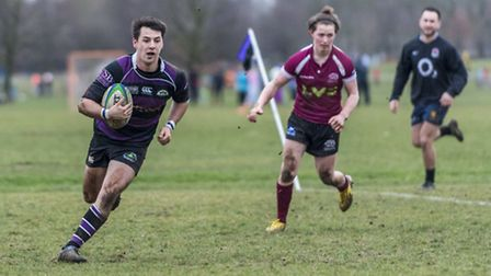 Man of the match Nathan Ladd crosses the try-line. Pic: davidwphotos.co.uk