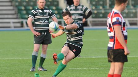 Hendon's Cian Hynes scored 13 points including a last-minute winning penalty. Pic: Paolo Minoli