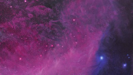 Patrick O'Donnell's cosmic painting