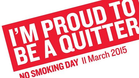 Residents are being urged to stop smoking for No Smoking Day