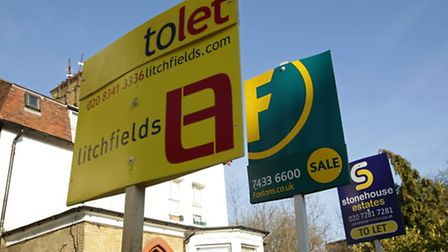 Private sector rents in London have increased by 3.2 per cent