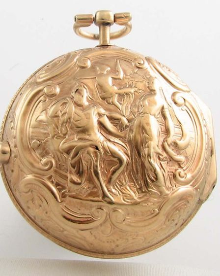 One of the stolen watches, dating back to 1776 and worth �5,000.