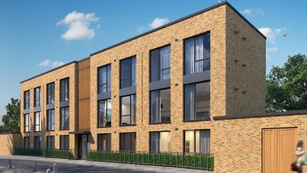 CGI of Pocket Living development Willingham Terrace, Camden. Sales to be launched end of 2015