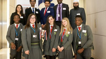 The team from Skinner's Academy