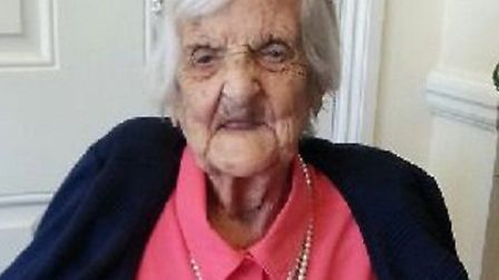Connie Whitfeld at 100