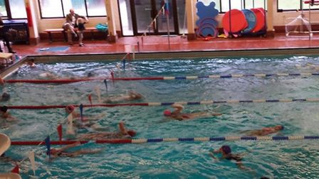 The Swimathon at the Mallinson Sports Centre
