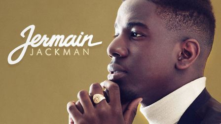 Jermain Jackman's album cover, which is coming out in March.