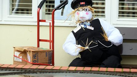 Reydon Scarecrow trail 2015.Picture: James Bass