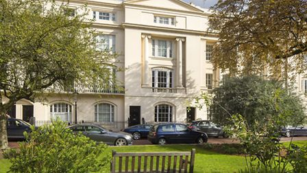 Regency Splendour: Six-bedroom apartment in Kent Terrace, �4.6 million with Savills.