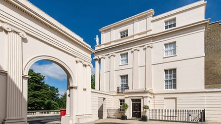 This Grade-I listed ground floor apartment in Cumberland Terrace is on the market with Savills for �