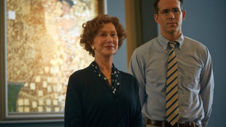 Helen Mirren and Ryan Reynolds star in Woman In Gold. Picture: Robert Viglasky