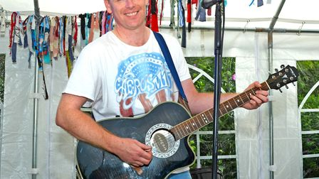 Paul Gillings performs at CARLfest 2017. Picture: Mick Howes