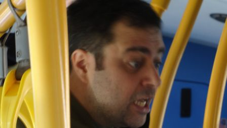 Police want to speak to this man following an incident on the C11 bus