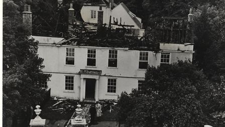 The huge fire of 1963 left Lauderdale House gutted and derelict for 15 years afterwards - now local