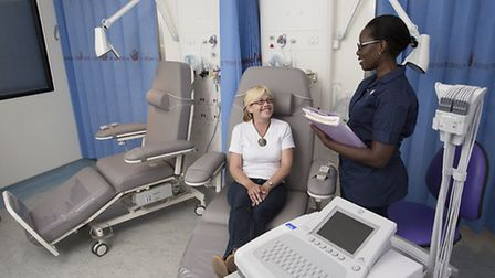 Visitors will get the chance to sign up to clinical trials at the hospital