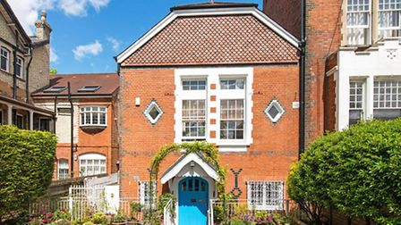 This converted chapel on Fellows Road was listed the day after the election with Benham & Reeves for