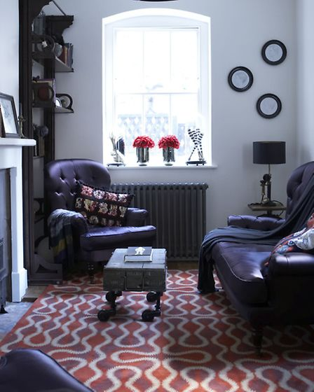 A living room in Hampstead