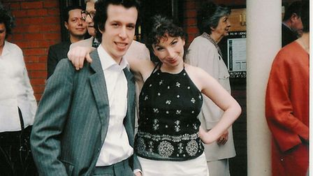 Jeremiah Duggan, pictured with his sister Louisa, died on an autobahn in Wiesbaden, Germany, in 2003